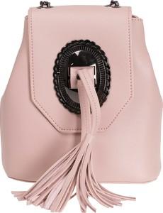 Różowa torebka inny w stylu boho mała