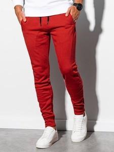 Spodnie sportowe Ombre w sportowym stylu z dresówki