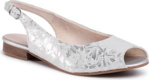 Srebrne sandały Lasocki