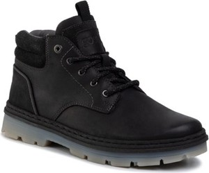 Czarne buty zimowe Go Soft sznurowane