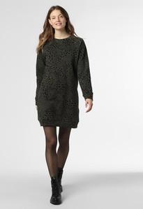 Czarna sukienka Vila mini z dresówki prosta