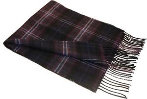 Czarny szal męski Lochcarron Of Scotland, Schottland