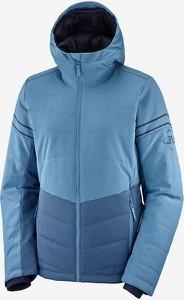 Niebieska kurtka Salomon krótka