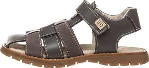 Buty dziecięce letnie Trevirgolazero na rzepy ze skóry