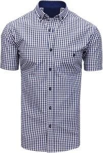 Koszula Dstreet w stylu casual z bawełny z krótkim rękawem