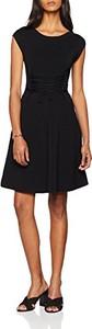 Sukienka amazon.de z krótkim rękawem z okrągłym dekoltem