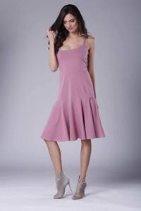 Sukienka Nommo midi z bawełny