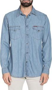 Niebieska koszula Carrera Jeans z długim rękawem