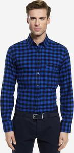 Koszula Wólczanka w stylu casual z bawełny z długim rękawem