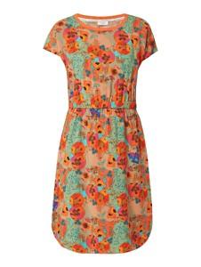 Pomarańczowa sukienka Marc O'Polo DENIM w stylu casual z krótkim rękawem mini
