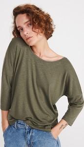 892b0fe5 Zielone bluzki damskie Reserved, kolekcja lato 2019