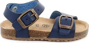 Granatowe buty dziecięce letnie Grünland
