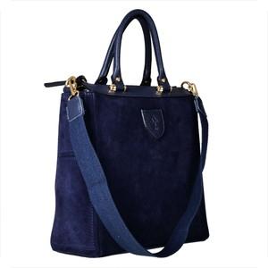 65dc48dbcb93a torebki zamszowe granatowe - stylowo i modnie z Allani