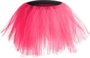 Różowa spódniczka dziewczęca Rennwear z tiulu