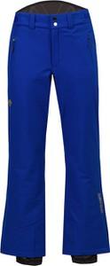 Niebieskie spodnie sportowe Descente w sportowym stylu z tkaniny