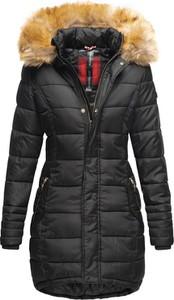 Czarna kurtka Navahoo w stylu casual z plaru