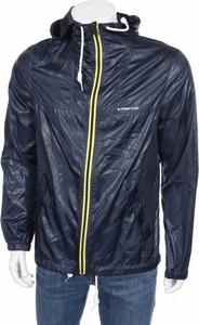 Niebieska kurtka Tom Tailor w stylu casual