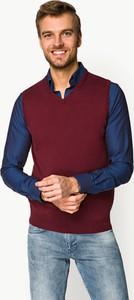 Czerwony sweter LANCERTO w stylu casual
