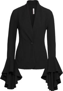 Czarna marynarka bonprix bodyflirt boutique w stylu boho