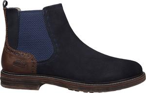 Czarne buty zimowe Manitu