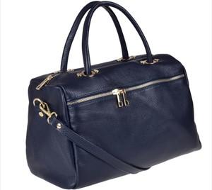 Niebieska torebka borse in pelle