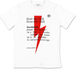 Koszulka dziecięca Neil Barrett dla chłopców z krótkim rękawem