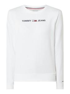 Bluza Tommy Jeans w stylu casual krótka z bawełny