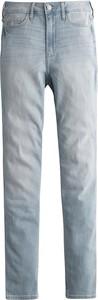 Niebieskie jeansy Hollister Co. z jeansu
