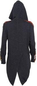 Granatowa bluza The Frock z bawełny