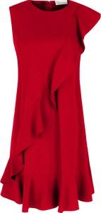 Czerwona sukienka Red Valentino bez rękawów
