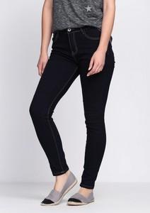 Granatowe jeansy Multu z jeansu