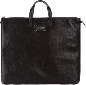 Czarna torebka Love Moschino w stylu casual