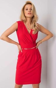 Sukienka Sheandher.pl mini z dekoltem w kształcie litery v