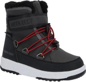 Buty dziecięce zimowe Moon Boot na rzepy