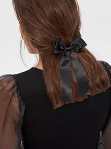House - Spinka do włosów z kokardą - Czarny