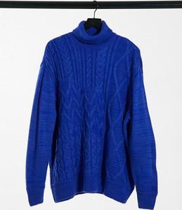 Niebieski sweter Asos