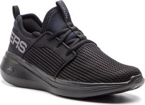 Buty sportowe Skechers z płaską podeszwą w sportowym stylu sznurowane
