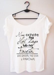 T-shirt Time For Fashion z okrągłym dekoltem