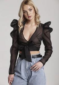 Bluzka Renee w stylu boho z długim rękawem