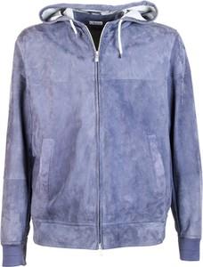 Niebieska bluza Brunello Cucinelli