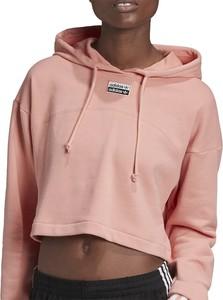 Bluza Adidas z bawełny krótka