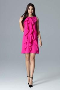 Sukienka Figl bez rękawów mini trapezowa
