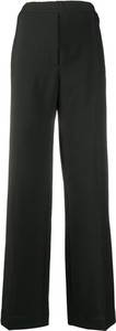 Czarne spodnie Acne z moheru