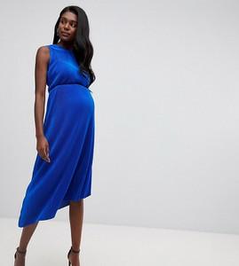 Niebieska sukienka Asos oversize