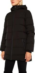 Czarna kurtka Esprit długa