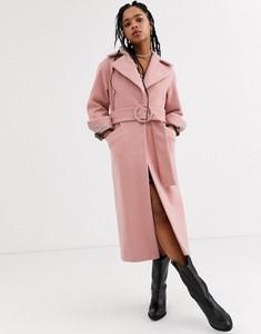 Różowy płaszcz Topshop