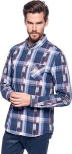 Koszula Guess z długim rękawem z włoskim kołnierzykiem