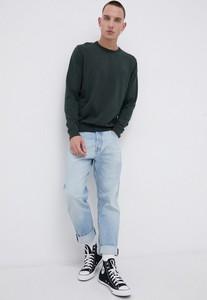 Zielony sweter Wrangler w stylu casual z okrągłym dekoltem