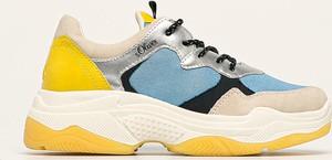 Buty sportowe S.Oliver ze skóry ekologicznej na platformie