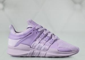 Fioletowe buty sportowe adidas